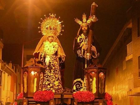 nazareno y maria santisima de la caridad 2